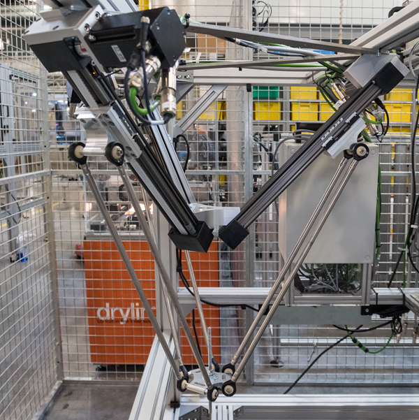 How do we test the delta robot?