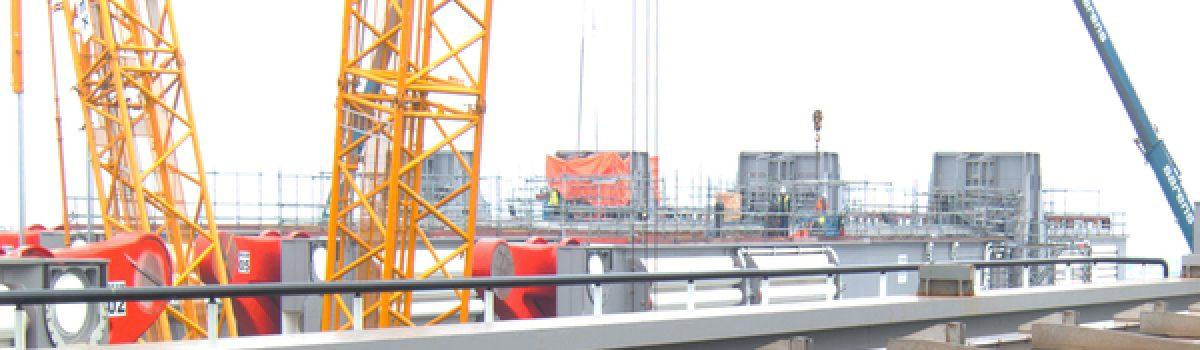 Data transmission in a crane system