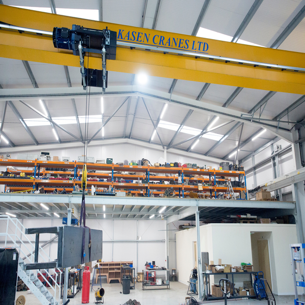 The igus® guidefast system; secure cable guidance for indoor cranes