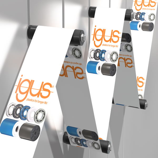 xiros® rollers for labelling technology; guiding products quietly and effortlessly