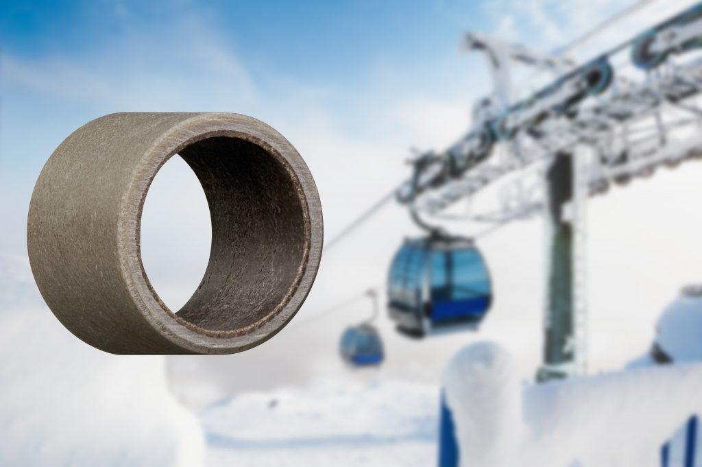 plain bearings in cold temperatures