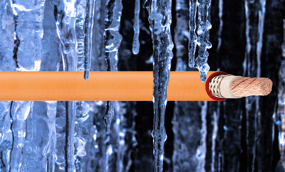 chainflex cables in cold temperatures