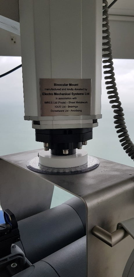 binocular mounting system