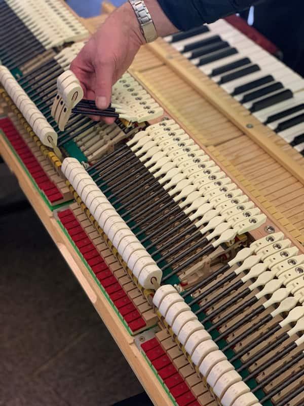 Piano 3D parts