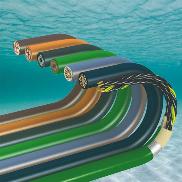 Why is it important to use underwater cables?