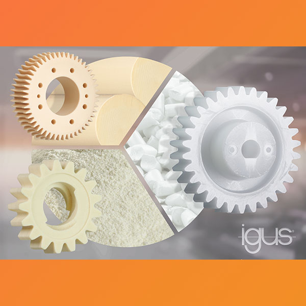 How are plastic gears made? igus® gives an insight