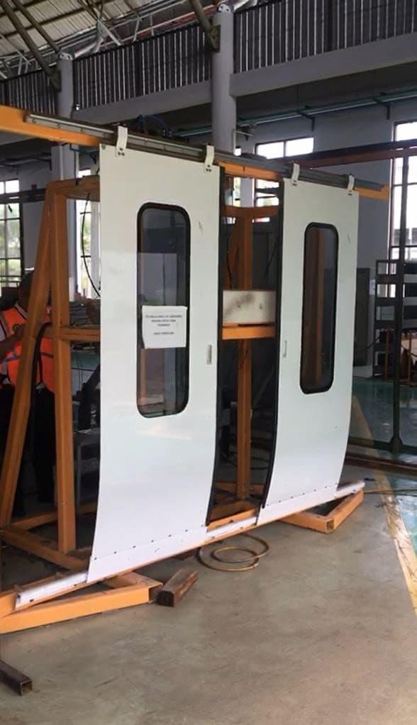 machine guard doors