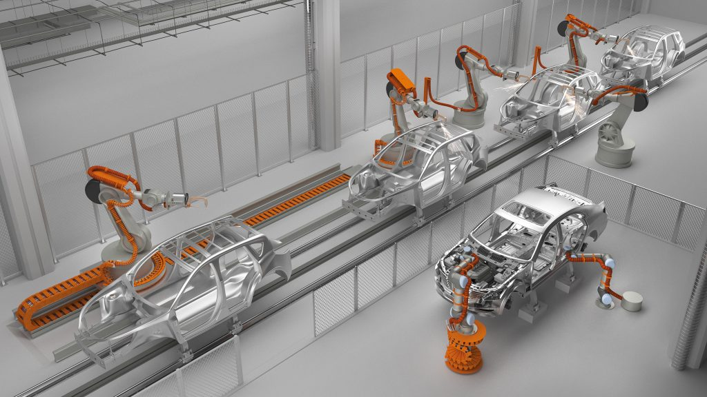 industrial manufacturing robots