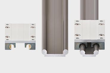 drylin rails for your  DIY van conversion